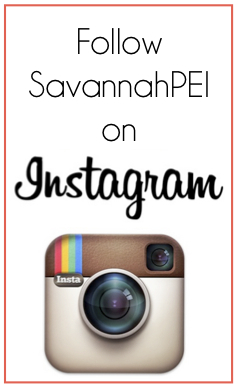 Follow Savannah on Instragram!