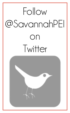 Follow Savannah on Twitter!